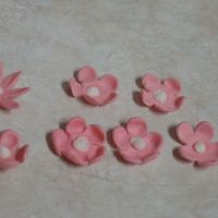 Bubble Gum Flowers These were made from double bubble - just experimenting a bit!