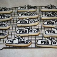 Graduation Cookies! More graduation cookies. NFSC with rolled buttercream!