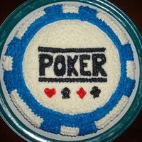 Poker Chip My boyfriend has been asking me to make him a cake but specified for it to be made with Splenda. The cake is chocolate made with Splenda...
