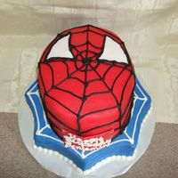 Spiderman All buttercream except the eyes. The mom showed me a picture of 3 or 4 cakes she liked and we came up with a combination she liked!