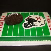 Belfry Middle School Cake