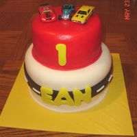 Ean's 1St Birthday Cake