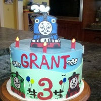 Grant's 3Rd B-Day Cake