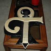 Prince Guitar Groom's Cake