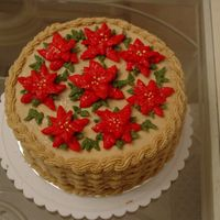 1St Christmas Decorated Cake