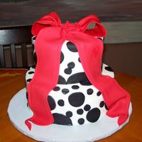 Black White And Red Made for a birthday party, the girl's favorite colors are red, black and white.