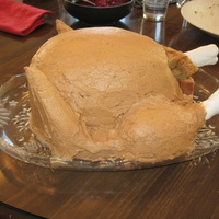 Turkey Cake My first attempt at a turkey cake