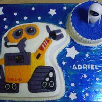 Wall-E And Eve Cake