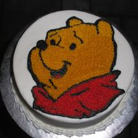Smash Cake This is the smash cake that goes with the Winnie the Pooh birthday cake.