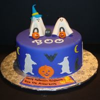 Halloween Ghosts Inspired by Shelly150's cake.
