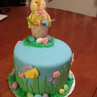 Easter Cake Easter cake. My variation of a cake I saw at the San Diego cake competition in March 2007. I am sorry that I don't know who the...