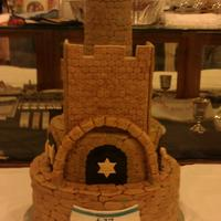 Jerusalem I made this cake for my husbands birthday and for Israel's Independence day. I was a lot of work but worth it! TFL