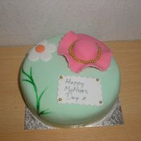 Mothers Day Round Cake