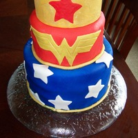 Wonder Woman Wonder Woman cake for a special woman
