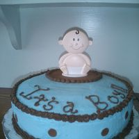 It's A Boy   Cake for shower for our daughter in law