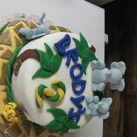 Jungle Cake For Brody