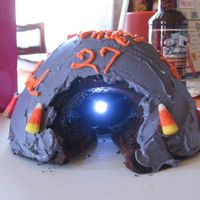 Light At The End Of The Tunnel I used a doll cake pan with the cone to make the tunnel effect, using a flashing light found in local hobby store to make the light (...