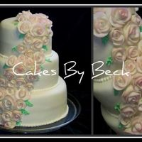 Pink Rose Cake I made this just for practice!