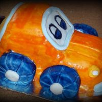Car I made this for my son, with inspiration from this site. It was for his 1st bday.