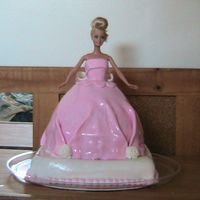 Barbie I made this for my niece for her 6th b-day.