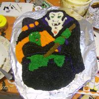 Monster Party This is from the Monster Party Wilton cake pan.