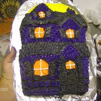 Haunted House This is from the Haunted House pan by Wilton.