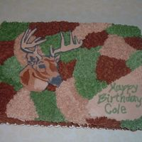 Camo Deer Birthday