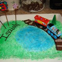 Thomas Cake We made this for our son's birthday. He was really pleased and it was really simple.