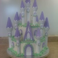 Castel Cake This was the first time I have done one of these. I made this for my great niece Pippa.