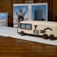 Tour Bus Birthday Cake   My Son's 22nd Birthday. His band was unable to do a National Tour because they didn't have a tour bus, so I made them one.
