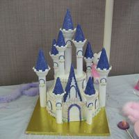 Img_0353.jpg Wilton Castle Cake from the 08 Yearbook...this is my daughter's firest birthday cake and it took me just over 13 hours total from...
