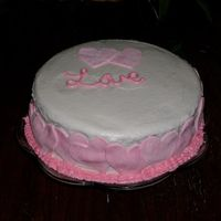Valentines_Cake.jpg   First attempt with homeade buttercream and the hearts are made from MMF.