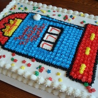 Slot Machine Birthday Cake Al BC icing, cake for co-workers mother.