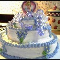 Shaylee's 3Rd Birthday Cinderella Cake I made this cake for my daughter's 3rd Birthday. She was having a princess party and wanted a Cinderella cake. She absolutely loved it...