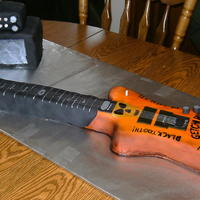 Guitar And Amp This was done by request for a 13yr old's bday. The guitar was a replica of the guitar they had bought him for his bday. The guitar is...