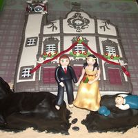 A Special Church This cake was the result of the stubourness of a friend. He wanted to make the bride a surprise by having for cake the church where she had...