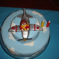 Brave Pilot 2 Years old Gonçalo had this cake chosen by his mother because she wanted it just his bedroom's decoration.