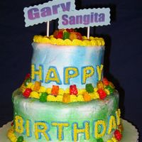 2005_6-21-05_Tti_B-Day_Cake_00.jpg  Well... this cake ended up looking differently than I had planned but..it was my first time using the color mist and my first time doing...