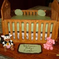Nojo Baby Farm Animal Themed Crib Cake