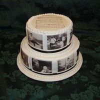 "60Th Birthday For A Musician Edible images of the musician having the birthday. Sheet music to ""Happy Birthday"" on top. White Chocolate mud cake with..."
