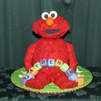 Elmo  This is my 2nd attempt at the little red monster. The first Elmo I made was for my own son. This one is for a customer and he has to travel...
