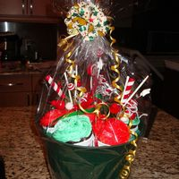 Christmas Cupcake Bouquet