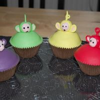 Teletubbies teletubbies cupcakes