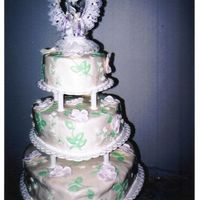 Megan's Wedding Cake