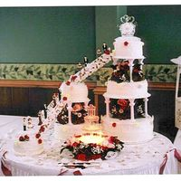 Largest Wedding Cake 5-19-2007-2 My bride and groom was very happy and boy their were lots of pictures from the guests