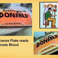 Blood Drive Cake Made this for a blood drive at work. As a recent recepient (4 pints) I wanted to show my appreciation. Tried to make it look like a Georgia...