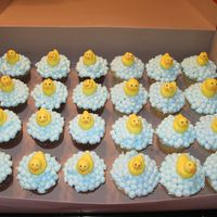 Rubber Duckies I wasn't sure if these cupcakes were usable, they had risen pretty high but they came out adorable! I had another order for them just...