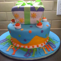 Mary Engielbreit Cake   Inspired by Mary Engielbreit.