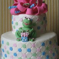 Girly Frog Birthday   For a 2 y/o's birthday party. Modelled after the invitation.