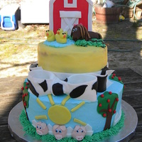 Barn Birthday Party